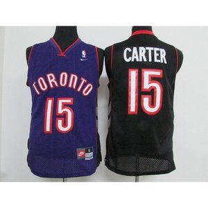Toronto Raptors Vince Carter Purple Black Jersey